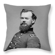 General James Mcpherson  Throw Pillow by War Is Hell Store