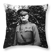General John J. Pershing Throw Pillow
