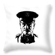 General John Pershing Throw Pillow