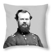 General Mcpherson Throw Pillow