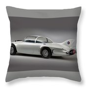 General Motors Firebird II Throw Pillow
