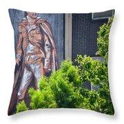 General Nathanael Greene Mural Throw Pillow