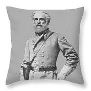 General Robert E Lee Throw Pillow