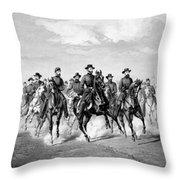 General Sherman At Savannah Throw Pillow