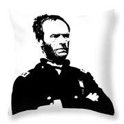 General Sherman Throw Pillow