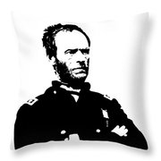 General Sherman Throw Pillow