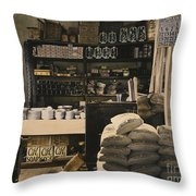 General Store, 1936 Throw Pillow