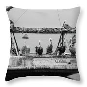 General Waiting Throw Pillow