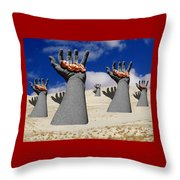 Generation Of Hope Throw Pillow