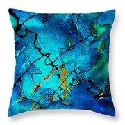 Genes Throw Pillow
