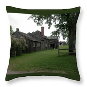 Genesee Country Village 1427 Throw Pillow