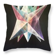 Genesis Creation Narrative Day 6 Throw Pillow