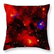 Genesis In The Beginning Throw Pillow