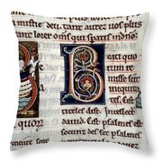 Genesis: Noah Throw Pillow