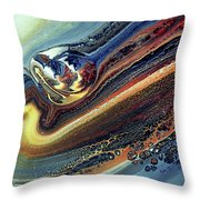 Genesis Of Decay Urban Abstract Throw Pillow
