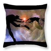 Genesis One Twenty Seven Throw Pillow