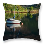 Genesta's Island Throw Pillow