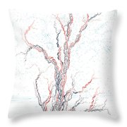 Genetic Branches Throw Pillow