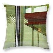Geneva Airport 5 Throw Pillow