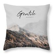 Gentile Shop Throw Pillow