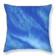 Gentle Cloudscape #4 Throw Pillow by Ben Upham III