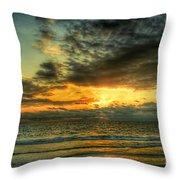 Gentle Dawn Throw Pillow