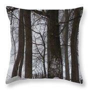 Gentle Giants Throw Pillow