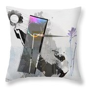 Gentle In The Face Of Beauty Throw Pillow