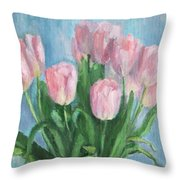 Gentle In The Simple Throw Pillow