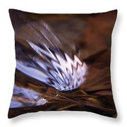 Gentle Ripple In River-2 Throw Pillow