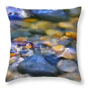 Gentle Ripples Throw Pillow