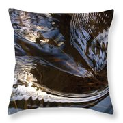 Gentle River Ripple-2 Throw Pillow