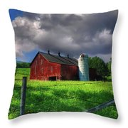Gentle Summer Throw Pillow