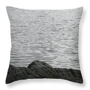 Gentle Waters Throw Pillow