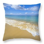 Gentle Waves Rolling Throw Pillow