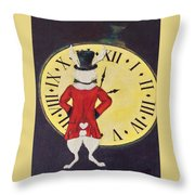 Gentleman Caller Throw Pillow