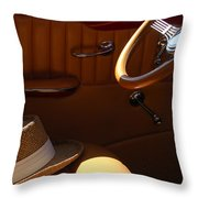 Gentleman's Hat Throw Pillow