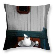 Gentleman's Washstand Throw Pillow