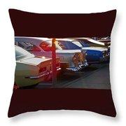 Gentlemen Stop Your Engines Throw Pillow