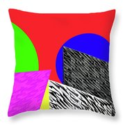 Geo Shapes 2 Throw Pillow