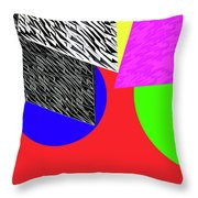 Geo Shapes 2a Throw Pillow