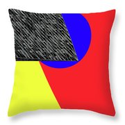Geo Shapes 4a Throw Pillow