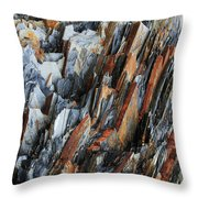 Geologica IIi Throw Pillow by Julian Perry