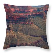 Geological Formations North Rim Grand Canyon National Park Arizona Throw Pillow