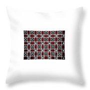 Geometric 7 Throw Pillow