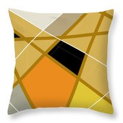 Geometric Abstract 1 Throw Pillow