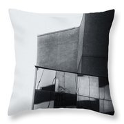 Geometric Angles And Shapes Throw Pillow