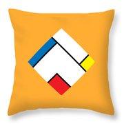 Geometric Art 307 Throw Pillow