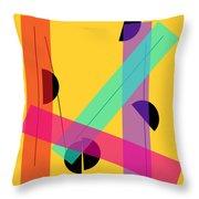 Geometric Art 419 Throw Pillow