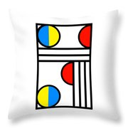 Geometric Art 429 Throw Pillow
